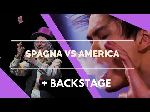 MAGIA SPAGNA VS. AMERICA + BACKSTAGE CON MIRACOLO