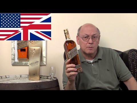 Whisky Review/Tasting: Johnnie Walker Gold Label Reserve