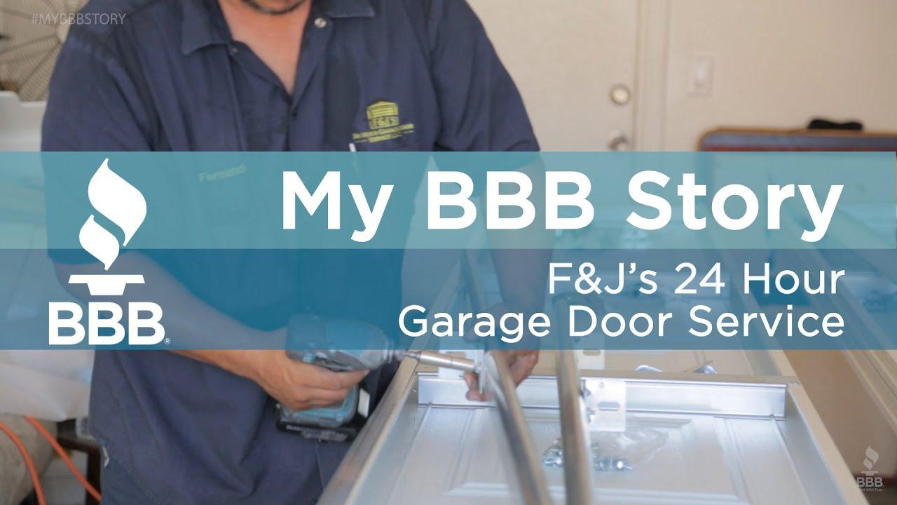 MY BBB Story: Fu0026Ju0027s 24 Hour Garage Door Service