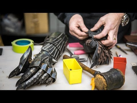 Adam Savage's One Day Builds: Foam Ringwraith Gauntlet!