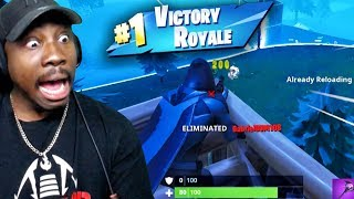 INSANE SNIPES IN SOLO WIN ON NINTENDO SWITCH! Fortnite Battle Royale Gameplay Ep. 33
