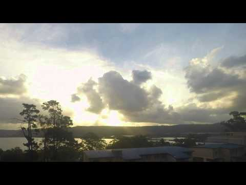 Gosford Waterfront Clouds