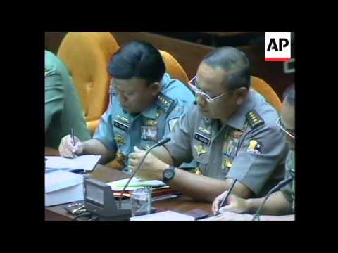 INDONESIA: JAKARTA: GOVERNMENT TO GET TOUGH WITH RIOTERS