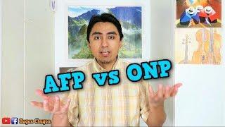 LA REALIDAD DE LAS AFP | ¿Qué elegir? ¿ONP o AFP?