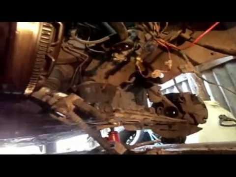 Демонтаж коробки передач пассат Б 3.
