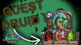Hearthstone | Quest Druid | Rastakhan's Rumble |
