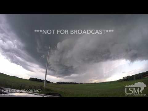 06-21-2017 ND/MN - Tornado Warned Supercell (MASTER VERSION) v.2.0