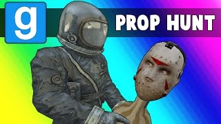 Gmod Prop Hunt Funny Moments - The Deadly Warehouse (Garry