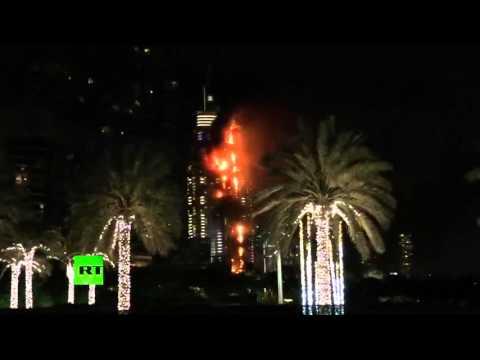 Дубай: пожар в самом высоком - BBC