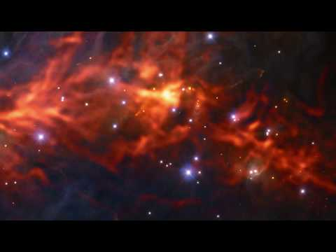 New View of Orion Nebula Shows Ultra-cold Gas Web