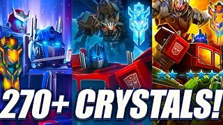 EPIC 270+ Crystal Opening! - Transformers: Forged To Fight