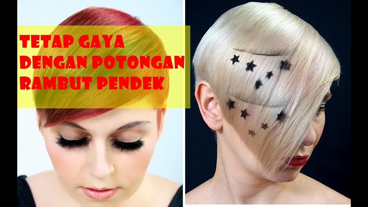 TETAP GAYA Dengan Potongan Rambut Pendek