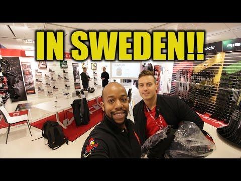 We visit Sweden ! - Hockeytutorial travel vlog_008
