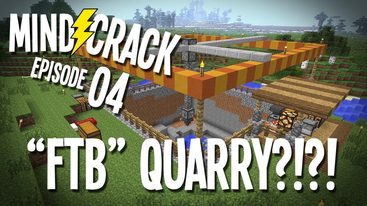 "Mindcrack Ep 10 - ""A Feed The Beast QuarryIn Vanilla Minecraft?!?!""  Minecraft Survival Multiplayer"