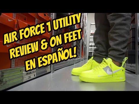 nike-air-force-one-utility-review-&-on-feet-en-espaÑol!