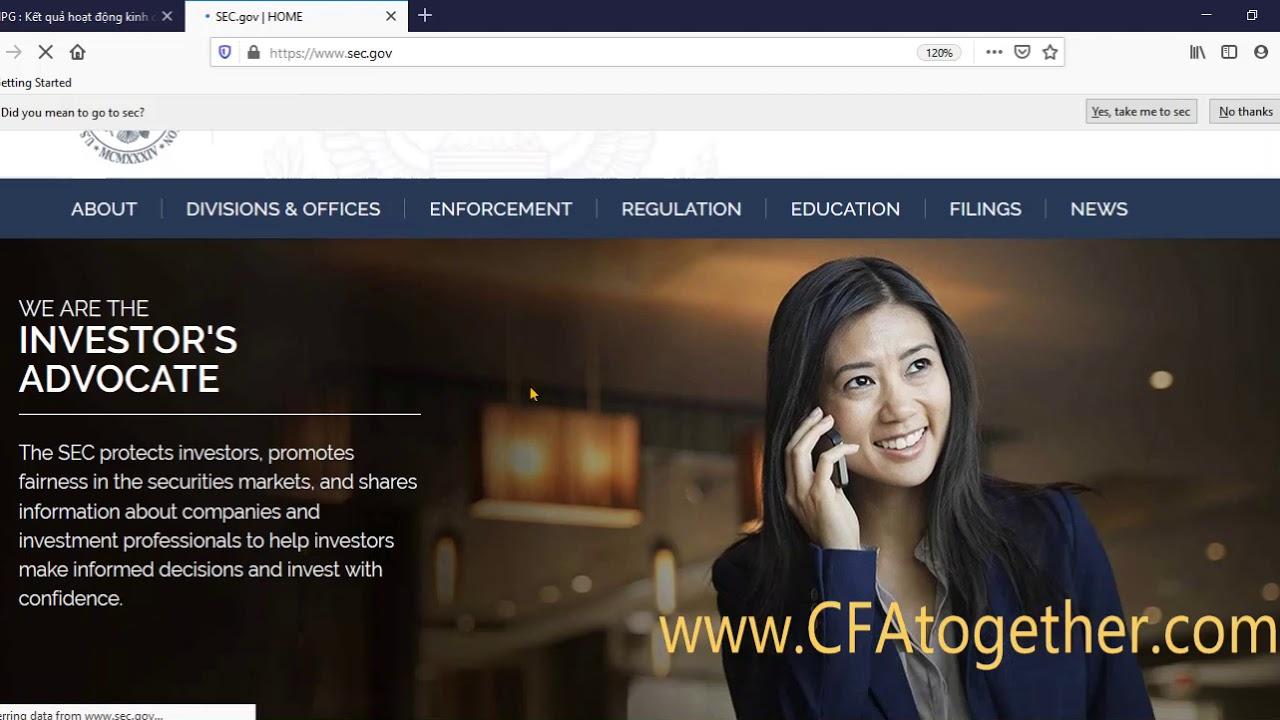 CFA thực hành: cách tích hợp báo cáo tài chính trên mạng vào thẳng Excel mà không phải nhập liệu