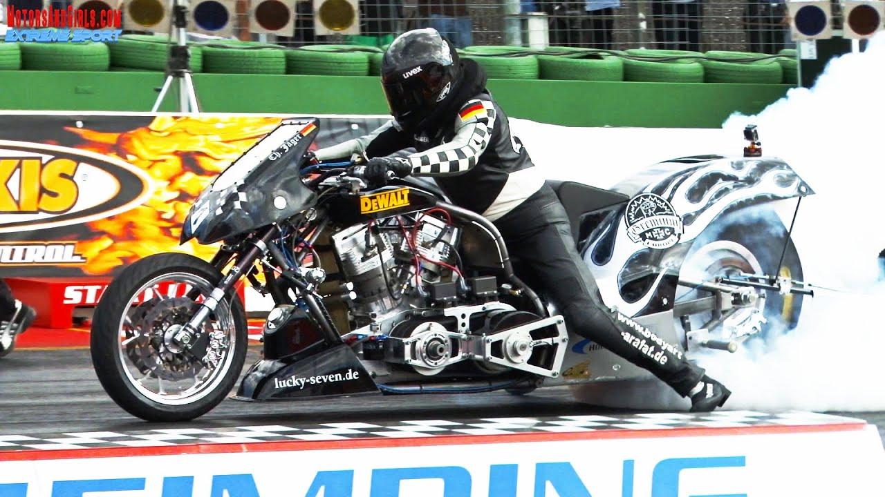 Nitromethan Mischen Super Twin Top Fuel Black Seven Drag