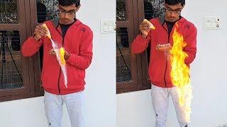 चीनी (Sugar) इतना तेज आग पकड़ सकती है आपको विश्वास नहीं होगा | Experiment By Blade XYZ |