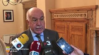 Declaracions sindic Carlos Barrera en Plen deth Conselh Generau d'Aran