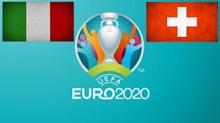 Футбол Чемпионат Европы Прямая трансляция Италия Швейцария