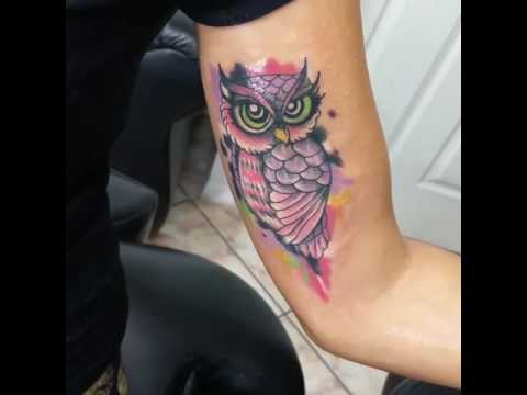Tattoo Buho Colores Youtube