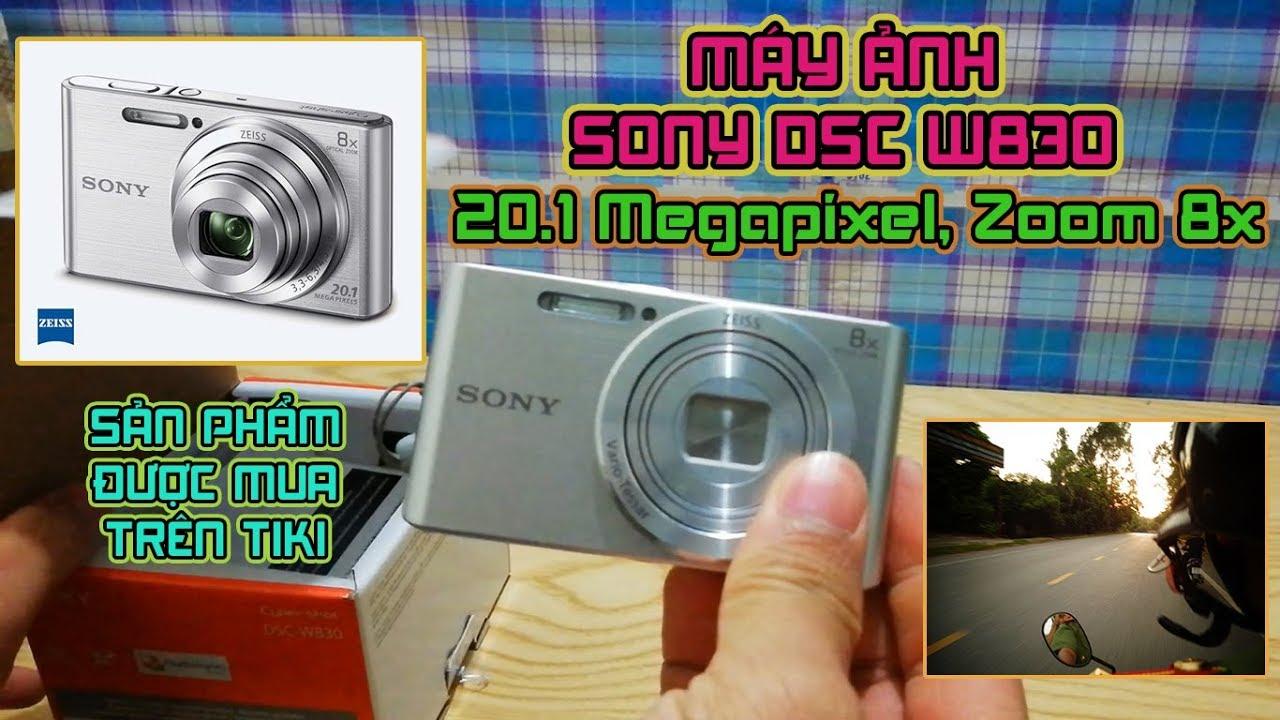 Máy Ảnh Sony DSC W830   Sony Camera DSC W830  Hàng Chính Hãng  Độ Phân Giải 20.1 Megapixel   Zoom 8x