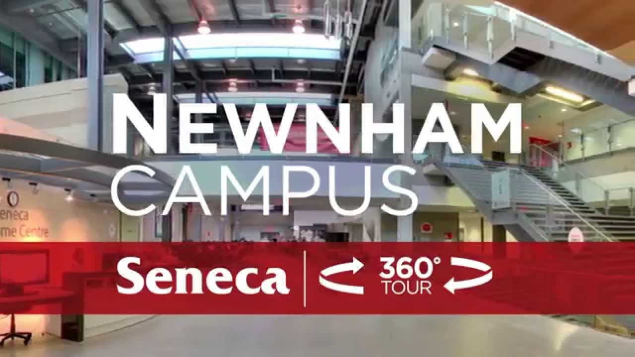 Seneca College 360 Virtual Tour of Newnham Campus YouTube
