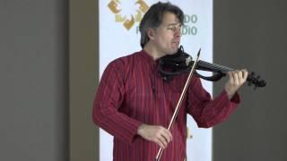 """Zachary Carrettin, electric violin - Bach: Cello Suite No. 1 """"Courante"""""""