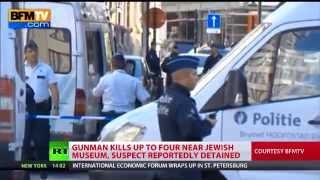 Brussels Attack: Gunman kills 4 at Jewish museum; suspect detained
