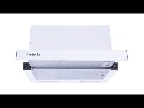 Витяжка MINOLA HTL 6915 I 1300 LED