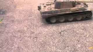 1/16 rc tamiya panther tank