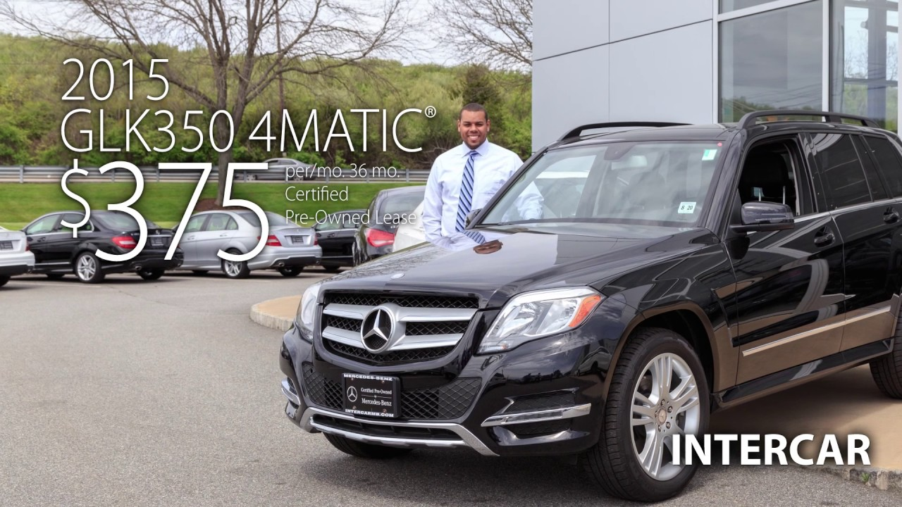 2015 Glk350 4matic Lease Special