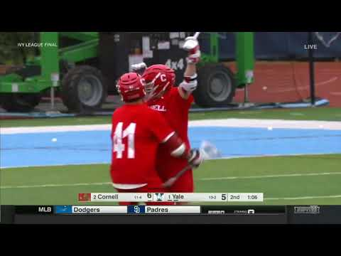 Highlights: Cornell MLAX vs Yale | Ivy Title Game - 5/6/18
