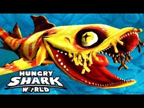Hungry Shark World - ХАЙДИ (Воббегонг) Heibi - ОТКРЫТИЕ НОВОЙ АКУЛЫ