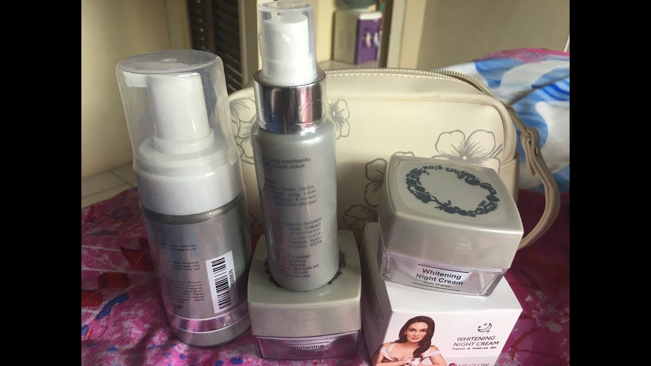 Unboxing Ms Glow Whitening Series X Luna Maya Unboxing Review Youtube