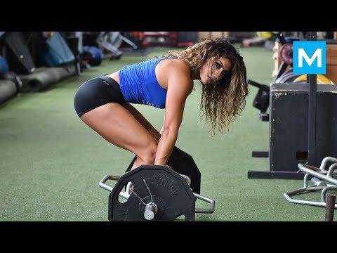 BEAST in the Beauty - Heba Ali   Muscle Madness