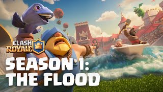 Clash Royale Season 1: The Flood!  New Update Reveal
