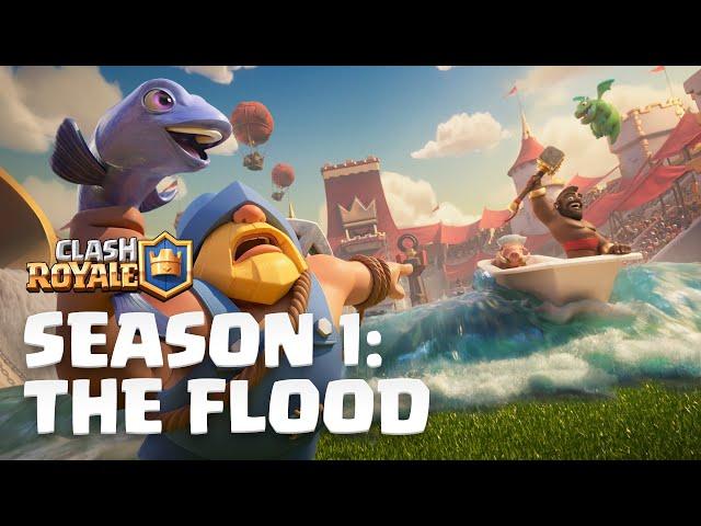 Clash Royale Season 1: The Flood! 🌊 New Update Reveal
