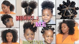 Our Mother/Daughter Hairstyles + How I Take Care Of My Toddler's Hair