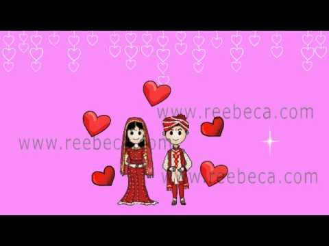 A B Animated Wedding Invite Indian Whatsapp Video Theme Youtube
