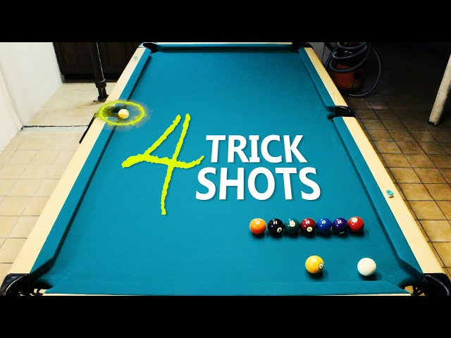 4 Pool Trick Shots: Volume 24