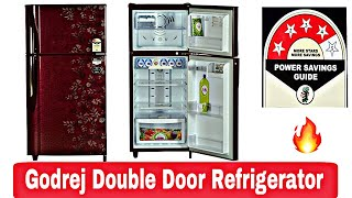 Godrej eon 250 Leter 5 Star Frost-Free Double Door Refrigerator Review in hindi | Technical Alokji