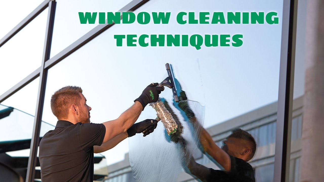 Traditional Window Cleaning Techniques  Tutorial Video 2 - UNGER - YouTube
