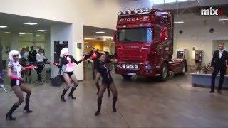 Mix TV: Презентация самого мощного грузовика Scania R-730