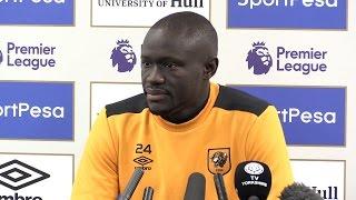 Oumar Niasse Pre-Match Press Conference - Chelsea v Hull - Embargo Extras