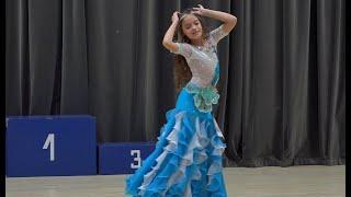 "Oriental. Ковалёва Василиса, студия танца ""Сияние"", Ростов."