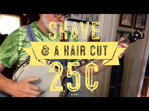 Shave and a Haircut Two Bits - A Fun Song Ending for Bluegrass Banjo