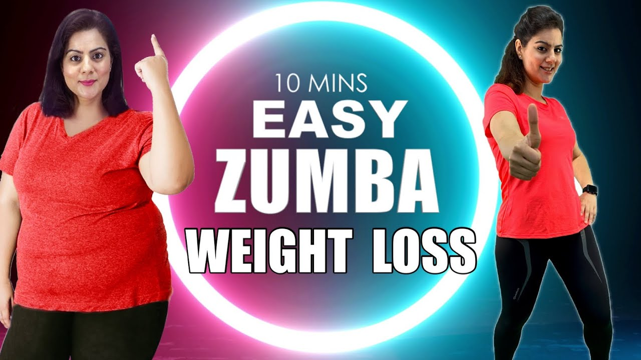 10 Mins Easy Weight Loss Zumba Dance Workout For Beginners At Home🔥Best Home Workout To Lose Weight
