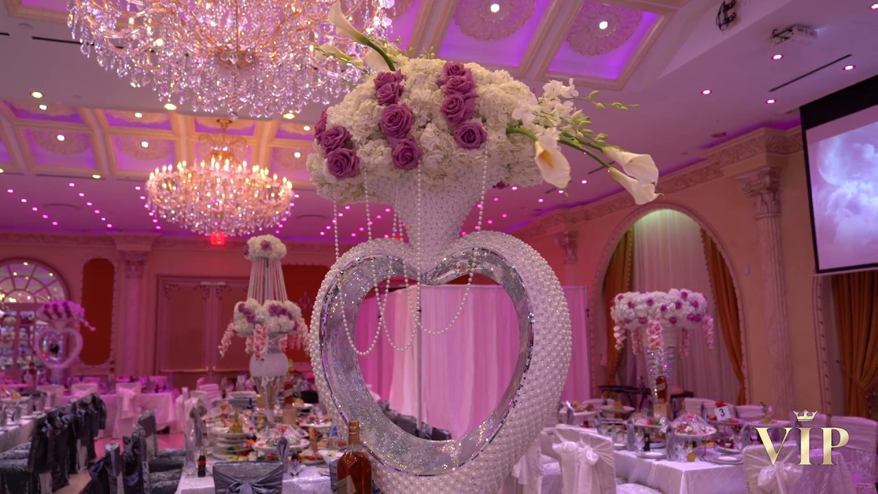 The most luxurious wedding decor youtube for Decorations for weddings at home