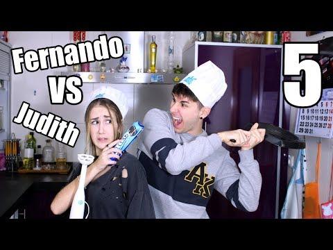 FERNANDO VS JUDITH: TARTA DE OREO | Hermanos Jaso